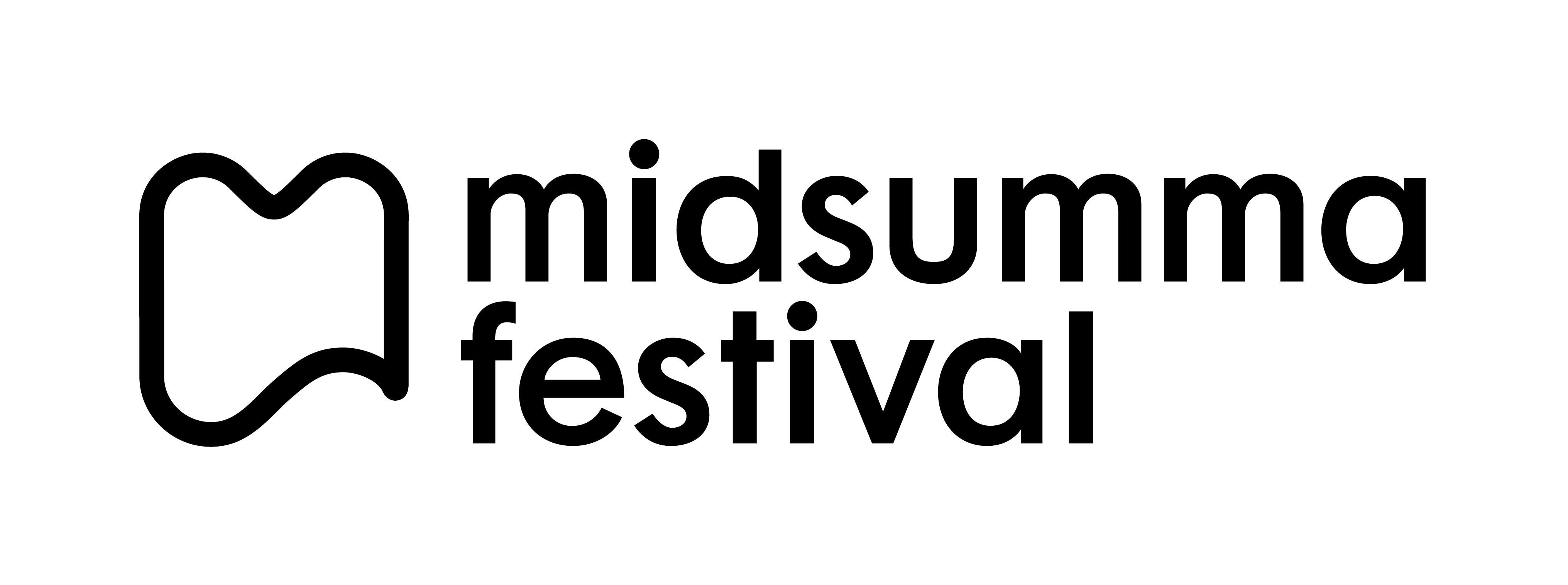 Midsumma Logo Black