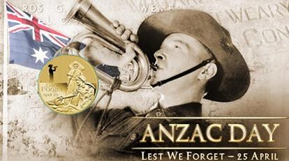 Anzac Day public holiday