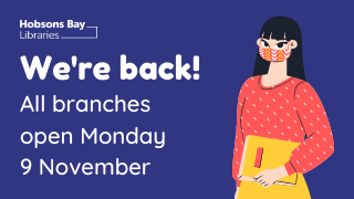 We're back! Library branches now open!