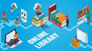 online library small